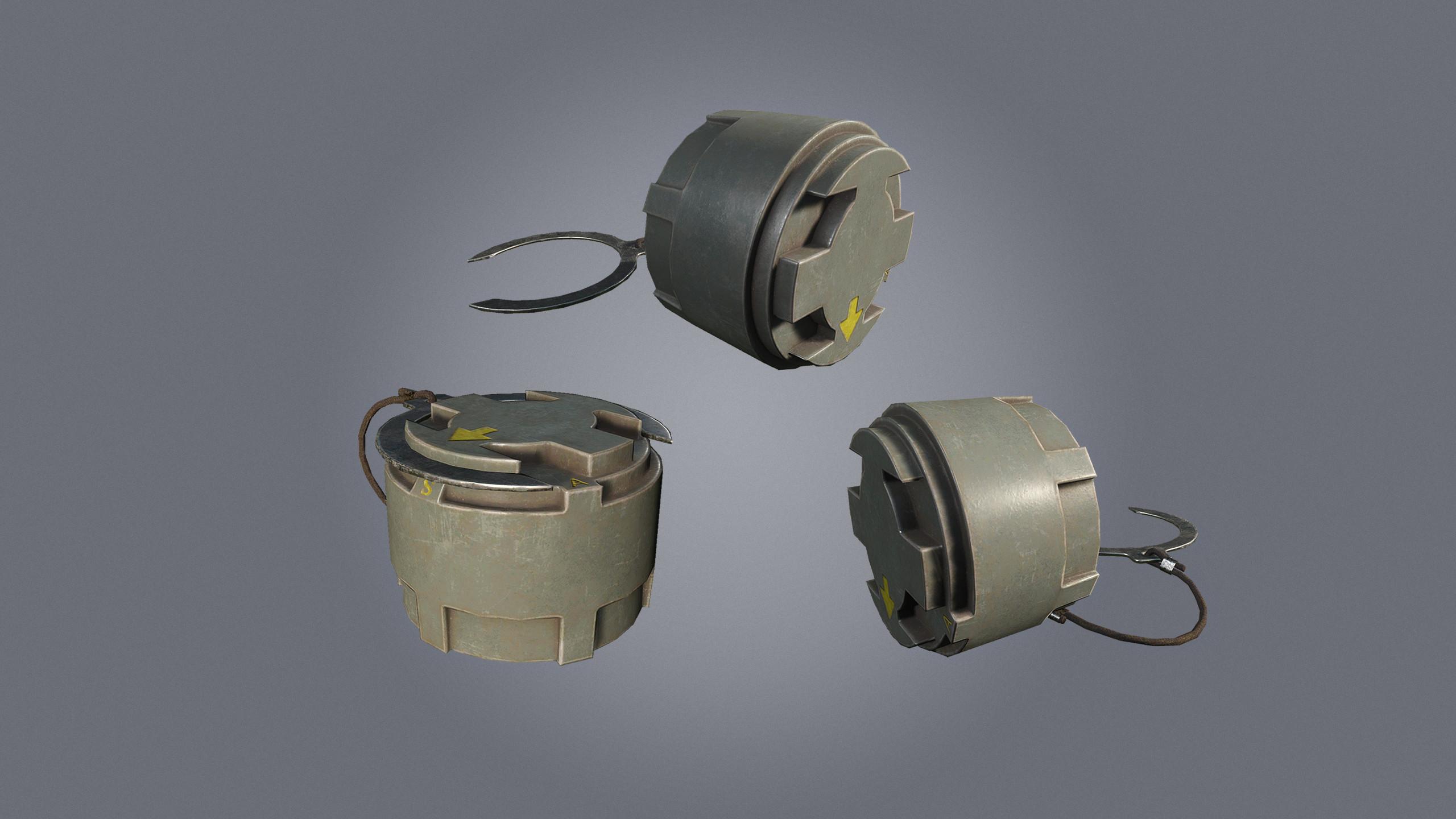 M14 landmine to send your enemies flying