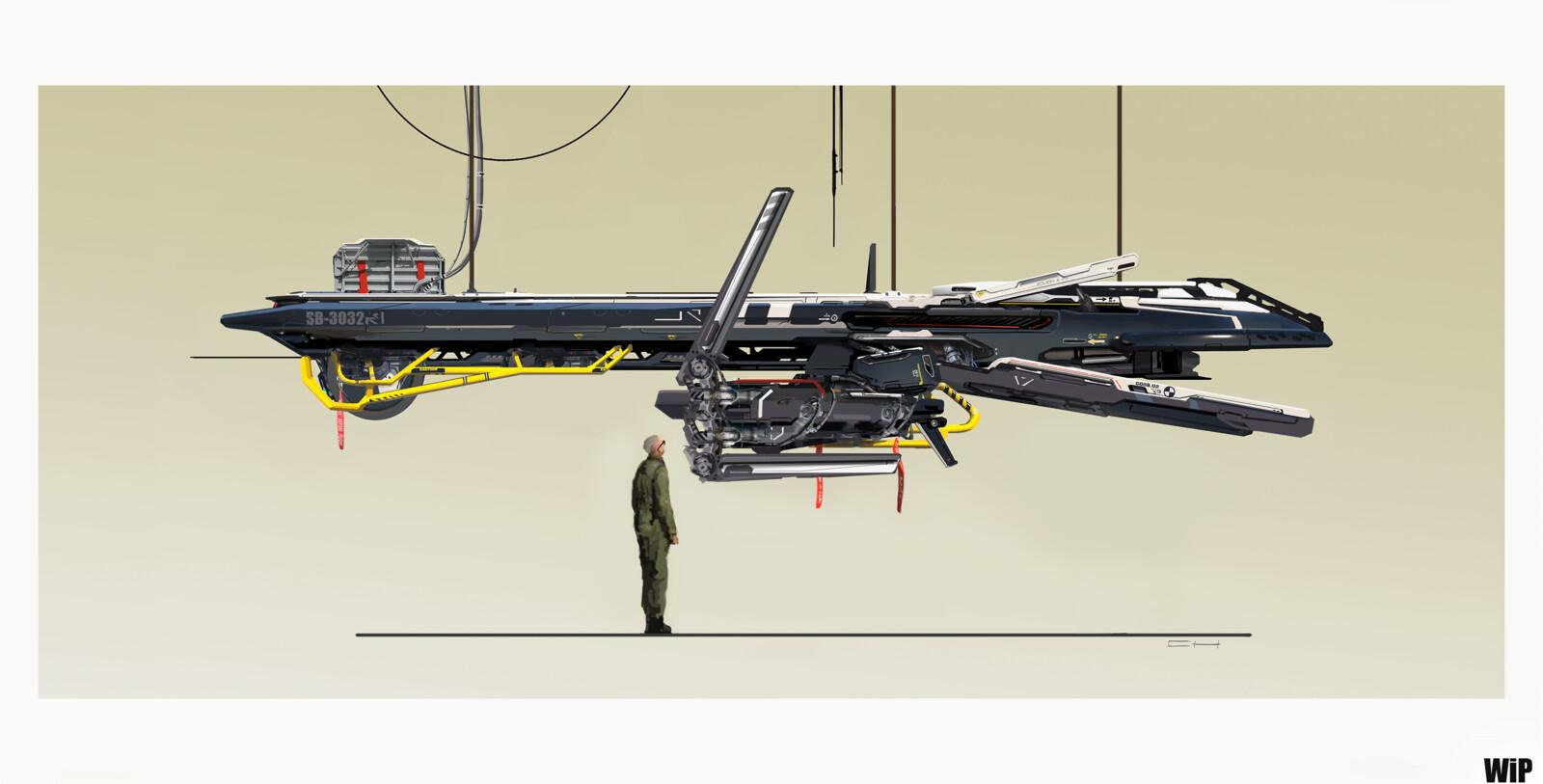 Heavy Recon/jamming Drone