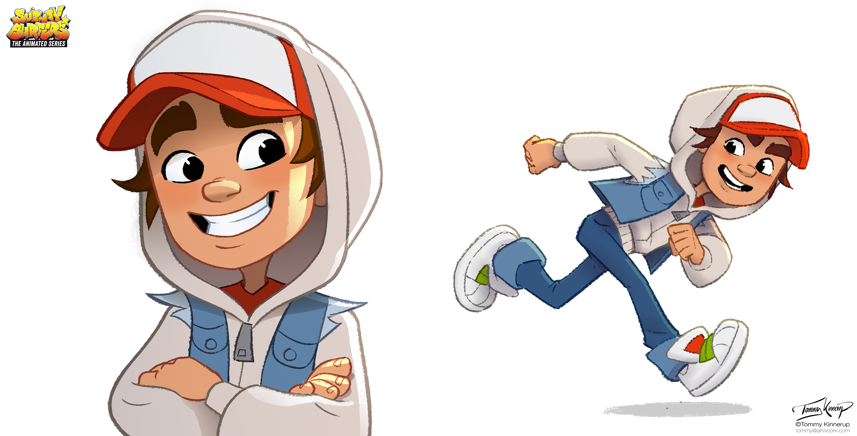 Marketing illustrations for Jake
