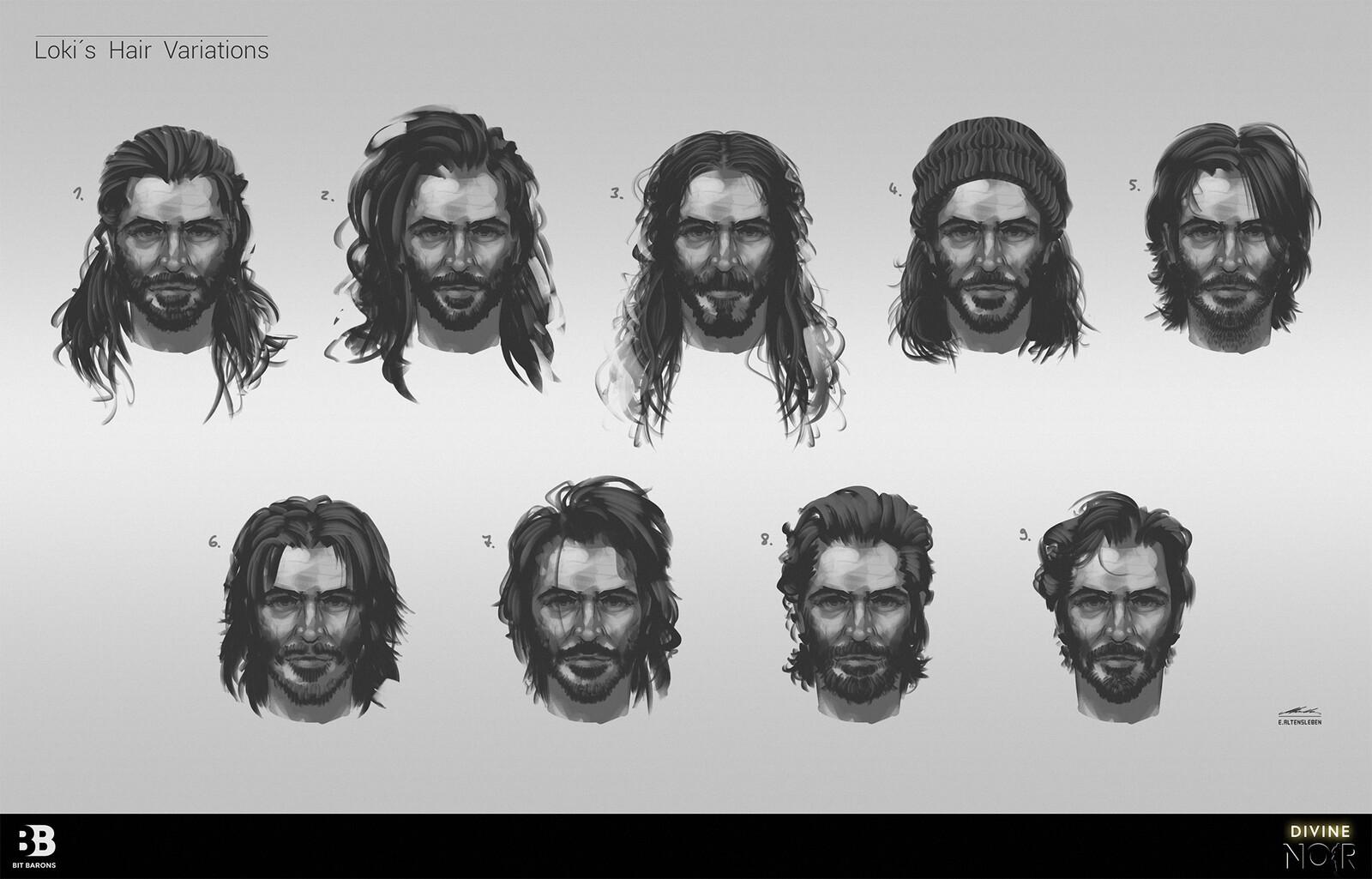 Loki - Hair Variations