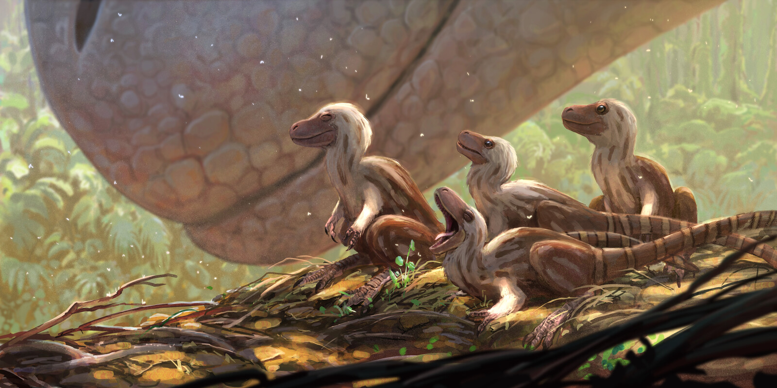 Tyrannosaur Hatchlings