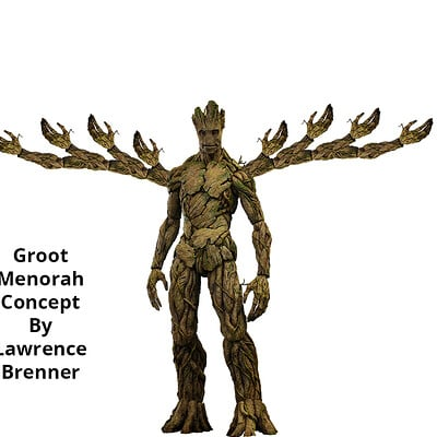 Lawrence brenner groot menorah 1