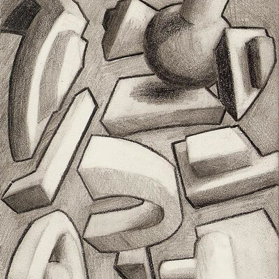 Daniel melendez boelian space and shape drawing