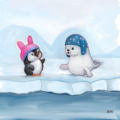 Okan bulbul penguin seal03