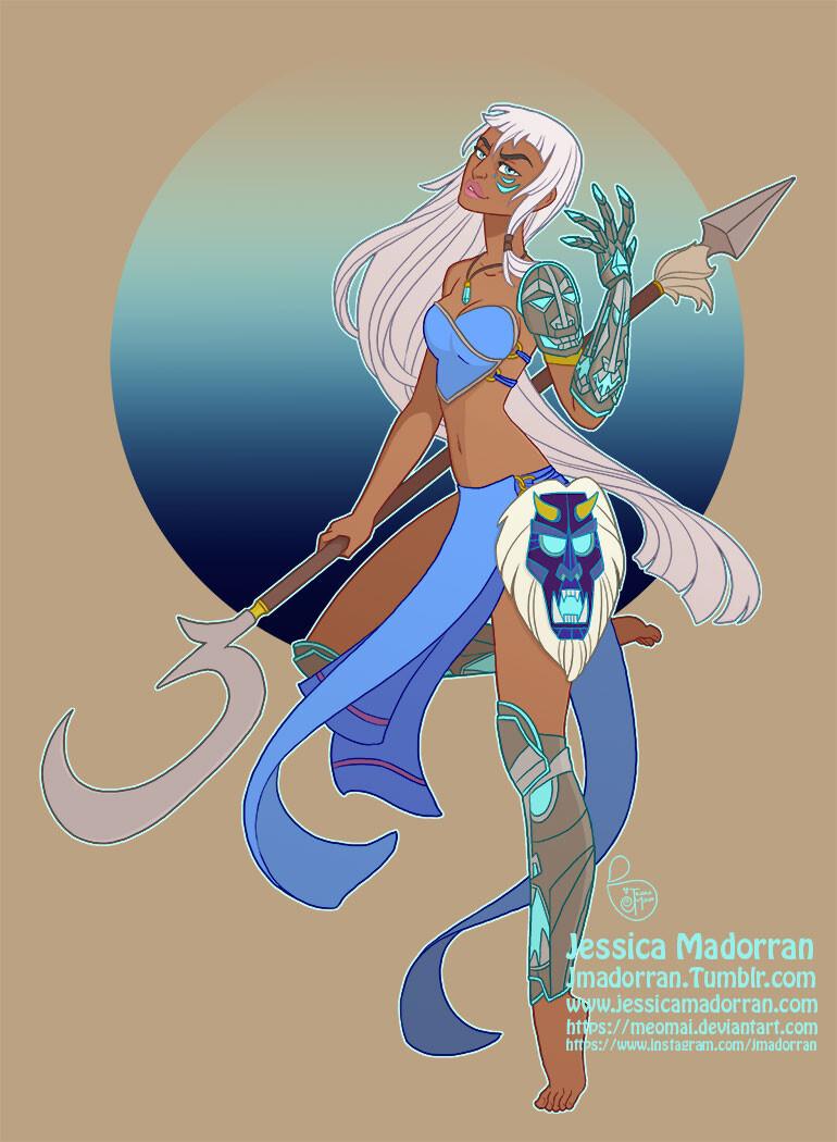 Disney Warrior Princess - Kida