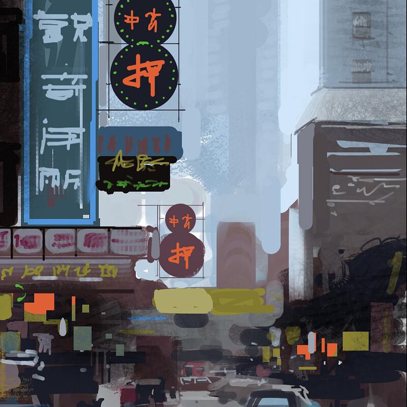 City-scape studies