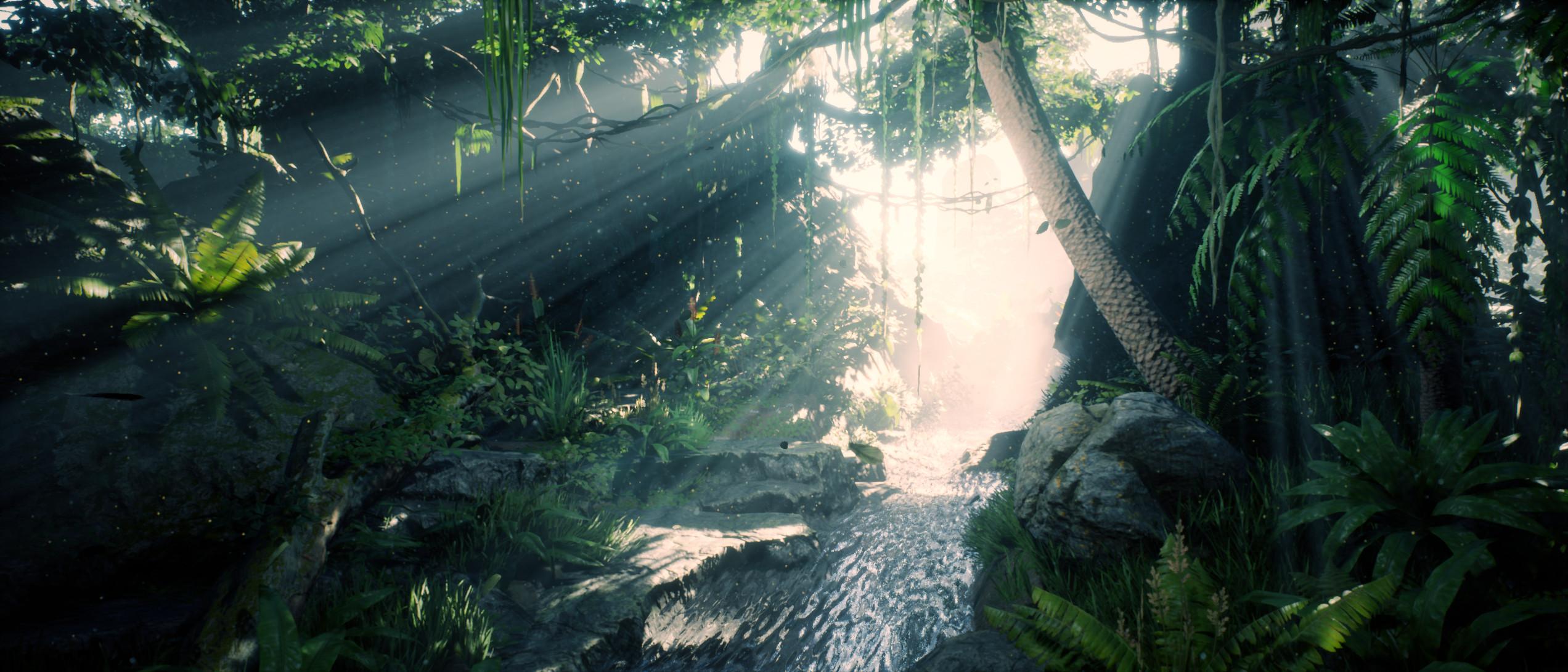 Jungle River - Unreal Engine - Still
