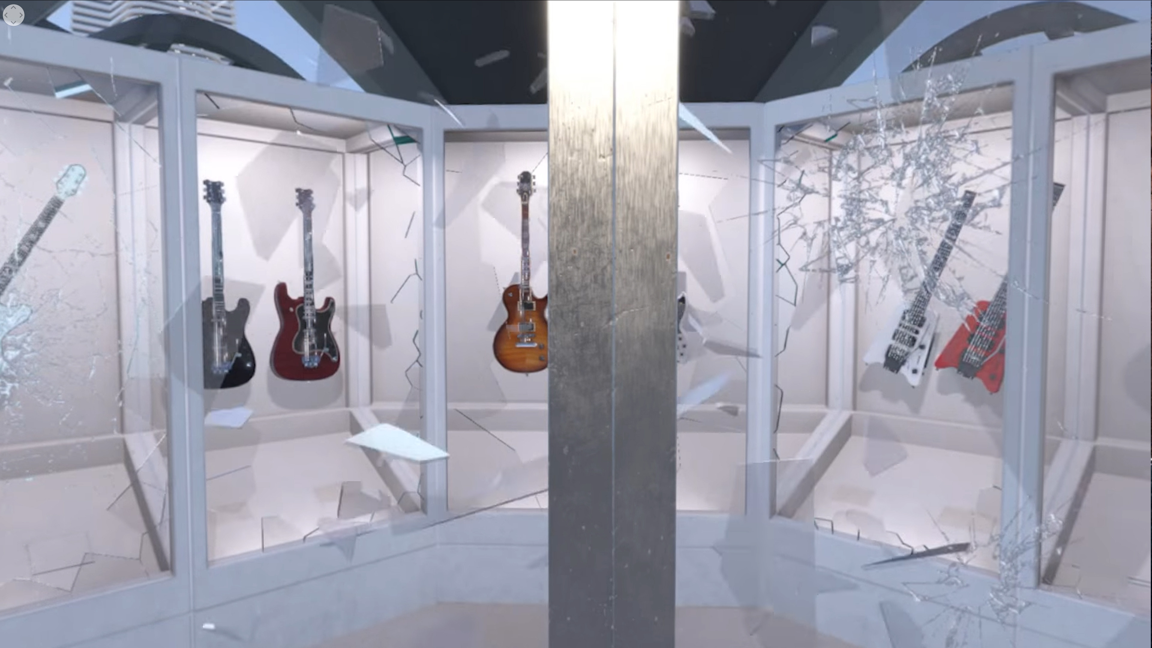 Created level art and lighting for the Great Dome scene.