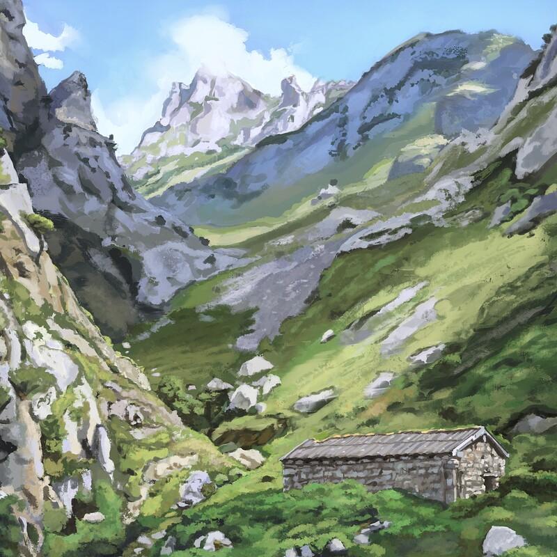 Cain (Spain) Landscape