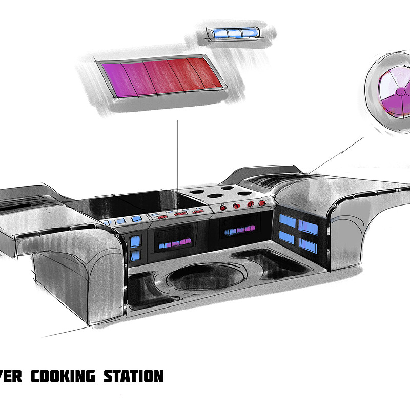 Cooking Stations