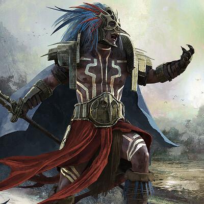 Nino is aztec warrior ld