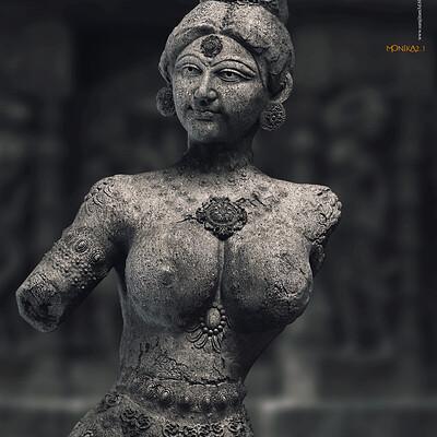 Surajit sen monika2 1 digital sculpture surajitsen sept2020a