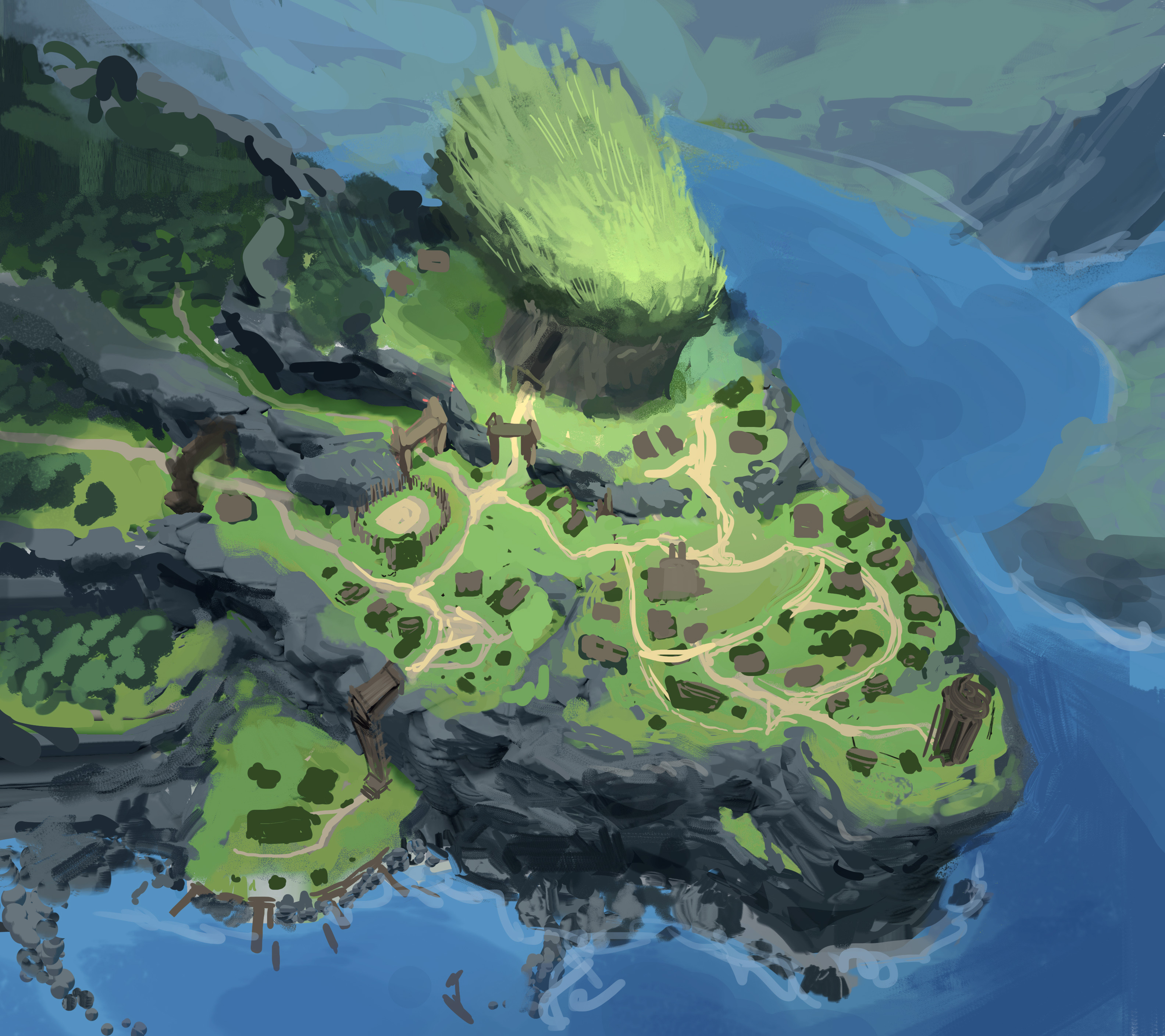 Map Overview Sketch