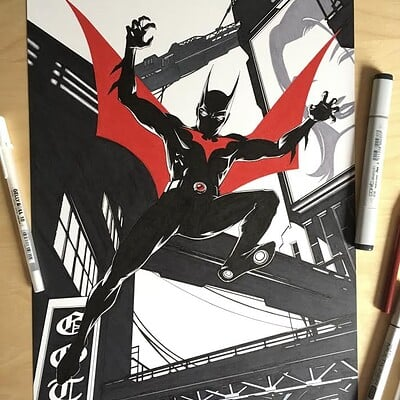 Donny d tran batman beyond traditional