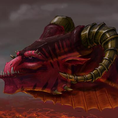 Alan curtis dragon 001