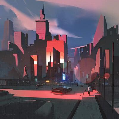 Ayan nag city graphic by artofayan
