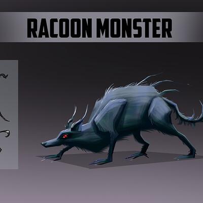 Ada huttula racoon monster