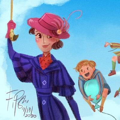 Kirin art mary poppins returns