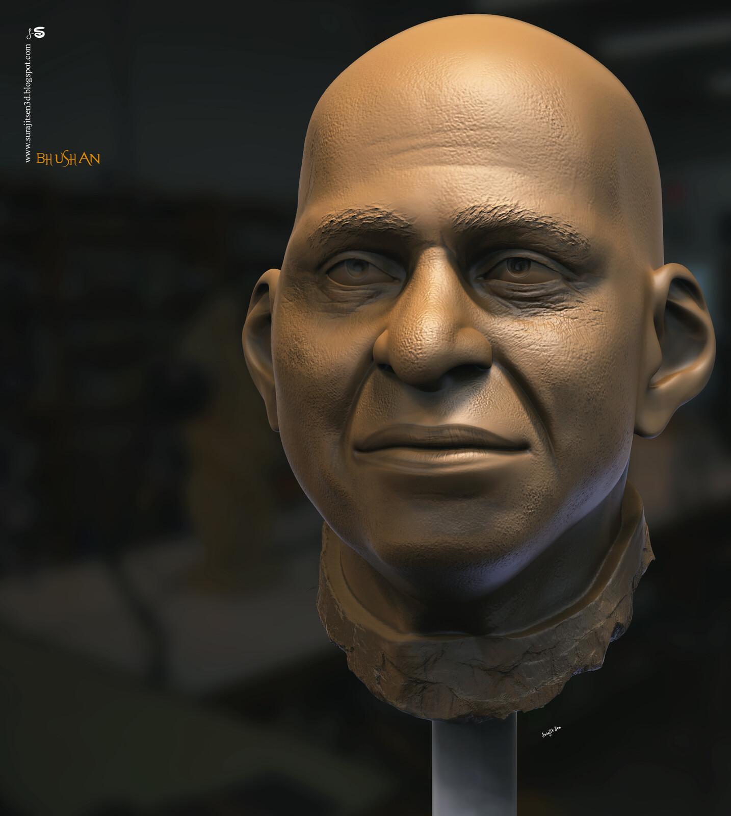 Bhushan Digital Sculpture One of my study works... Background music- #hanszimmermusic