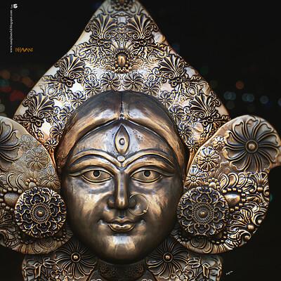 Surajit sen bhavani digital sculpture surajitsen sept2020a