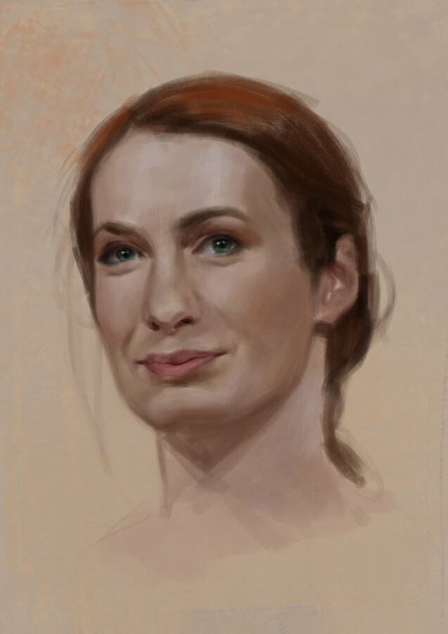 Felicia Day Portrait - Approximately 1 hour