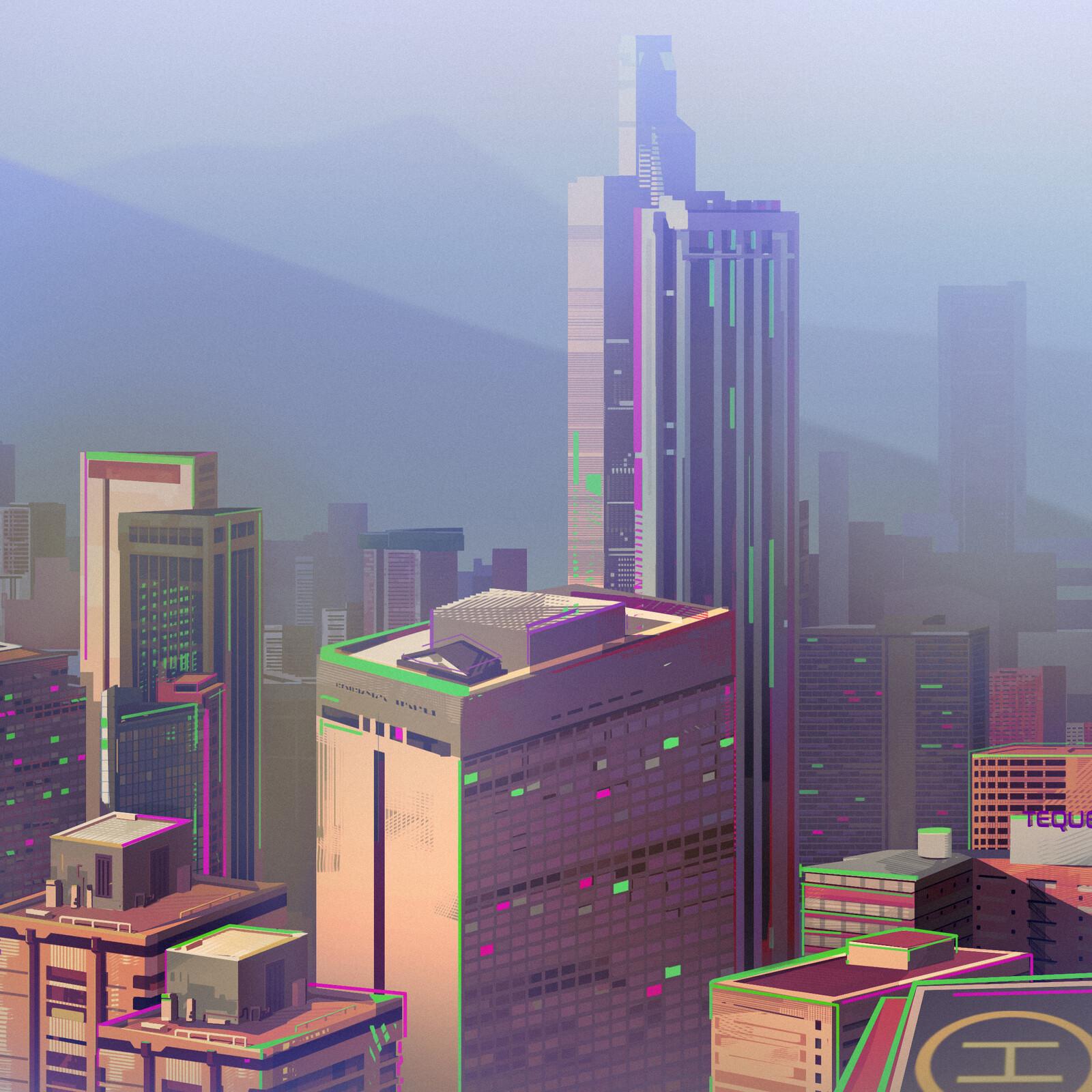 - Bogotá Cityscape  -