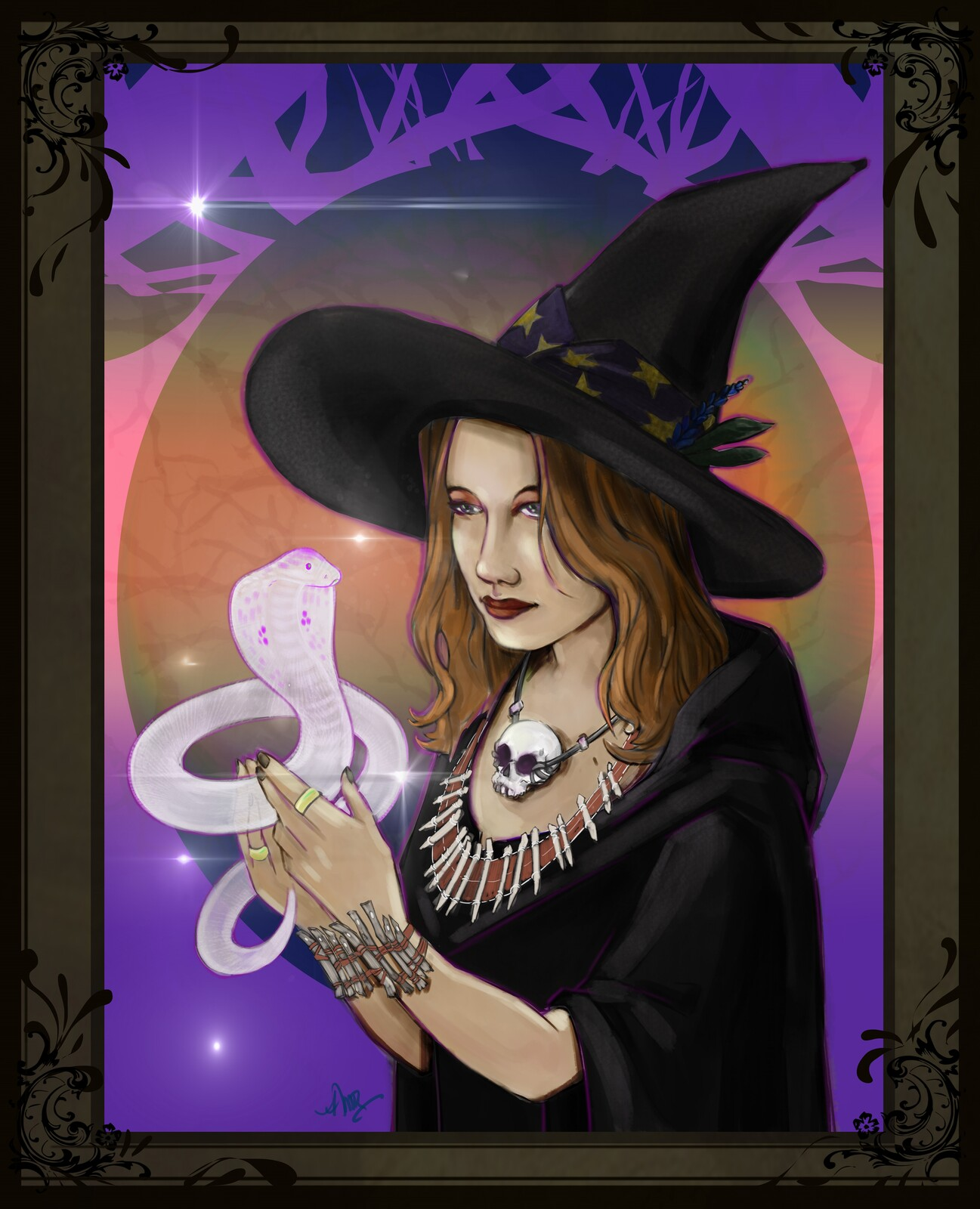 Witch - Fantasy Cover Art