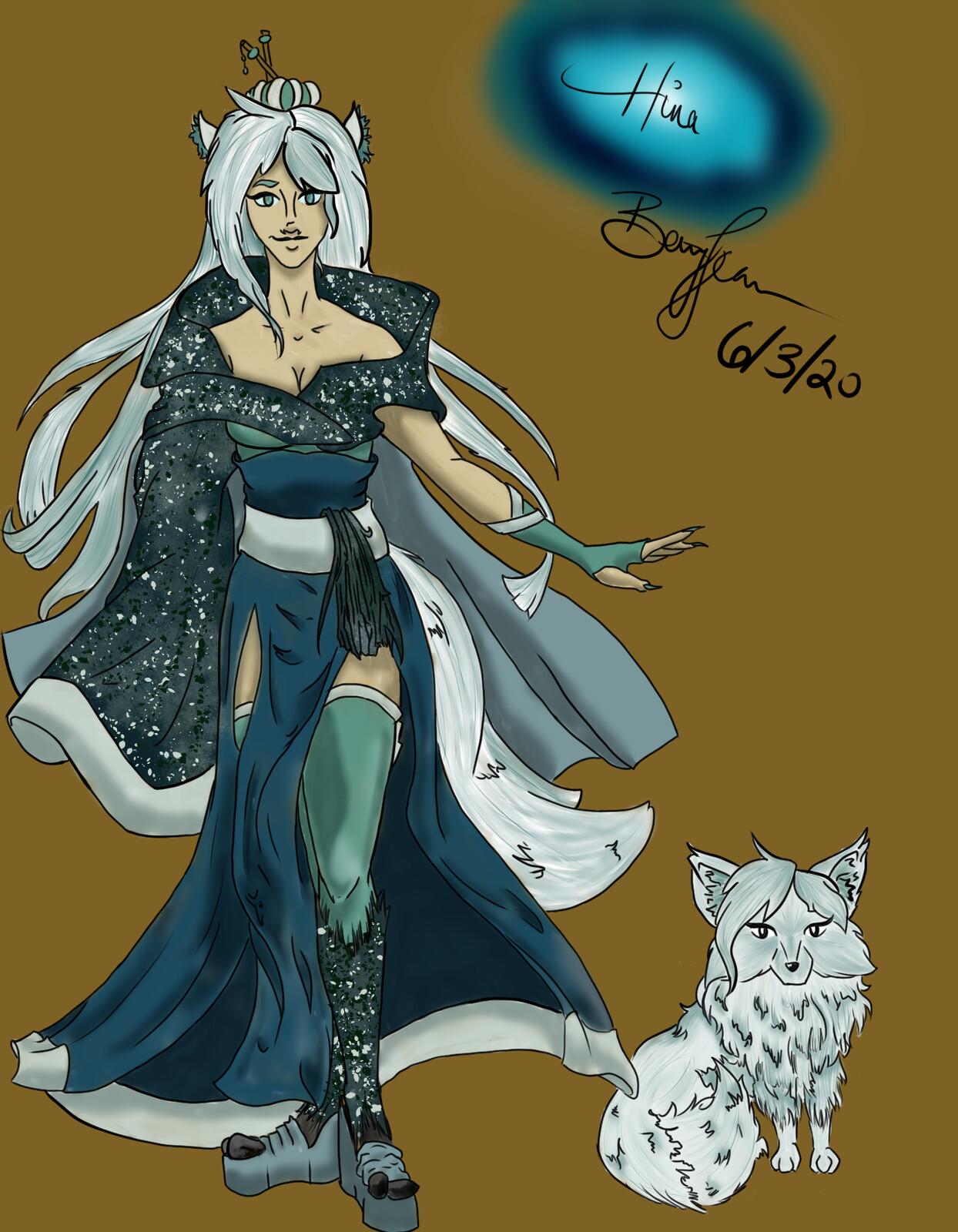 Hina, Guardian of the gates of Samsara