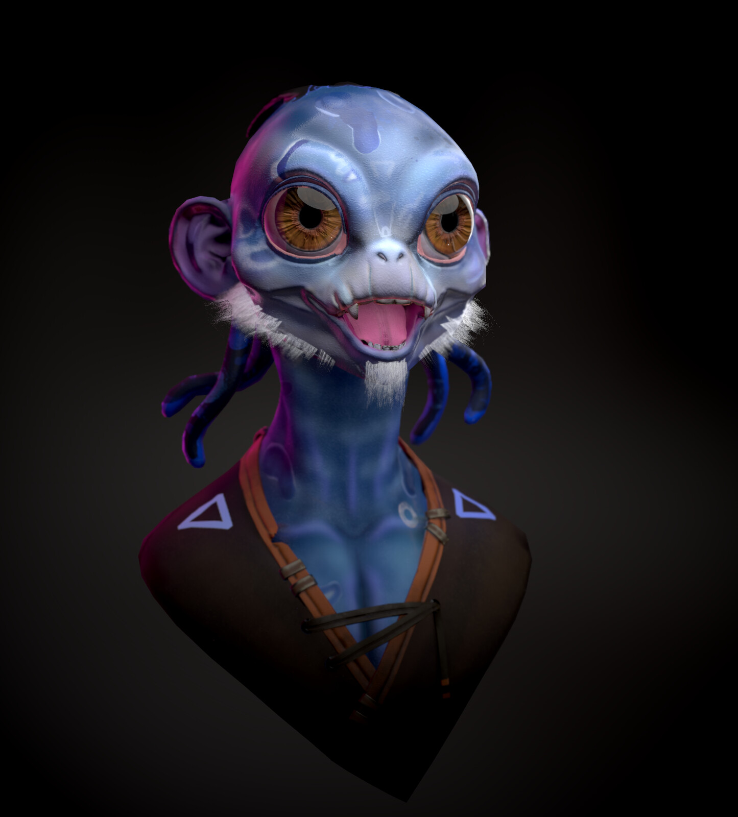 Real time render in marmoset