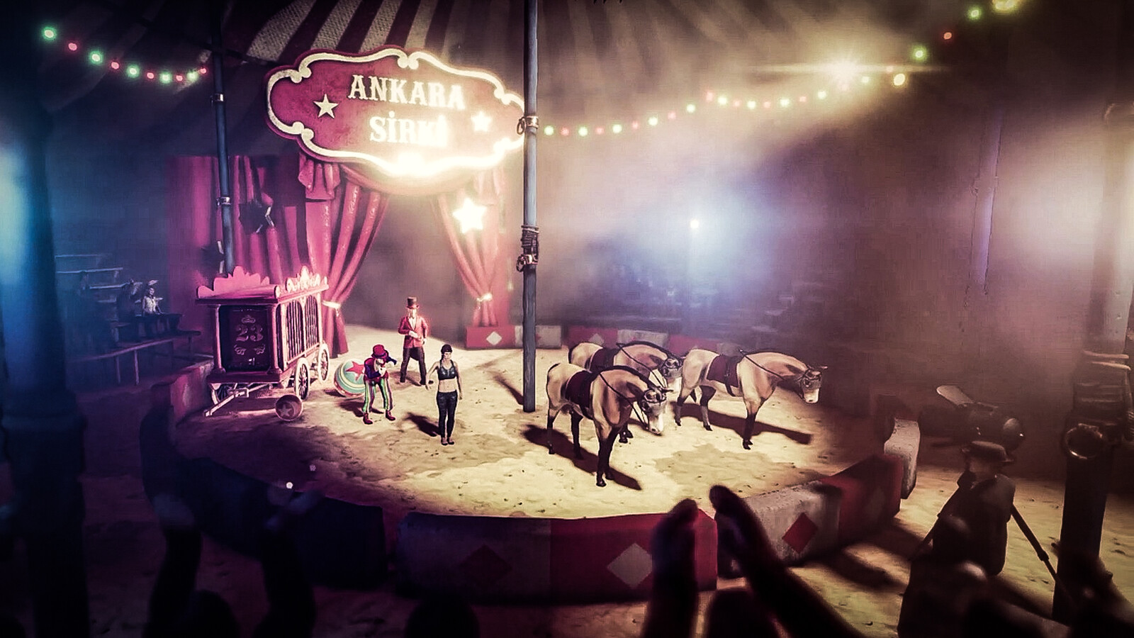 In circuses, animals were used a lot at that time. I hope we only see it in animations now 😔