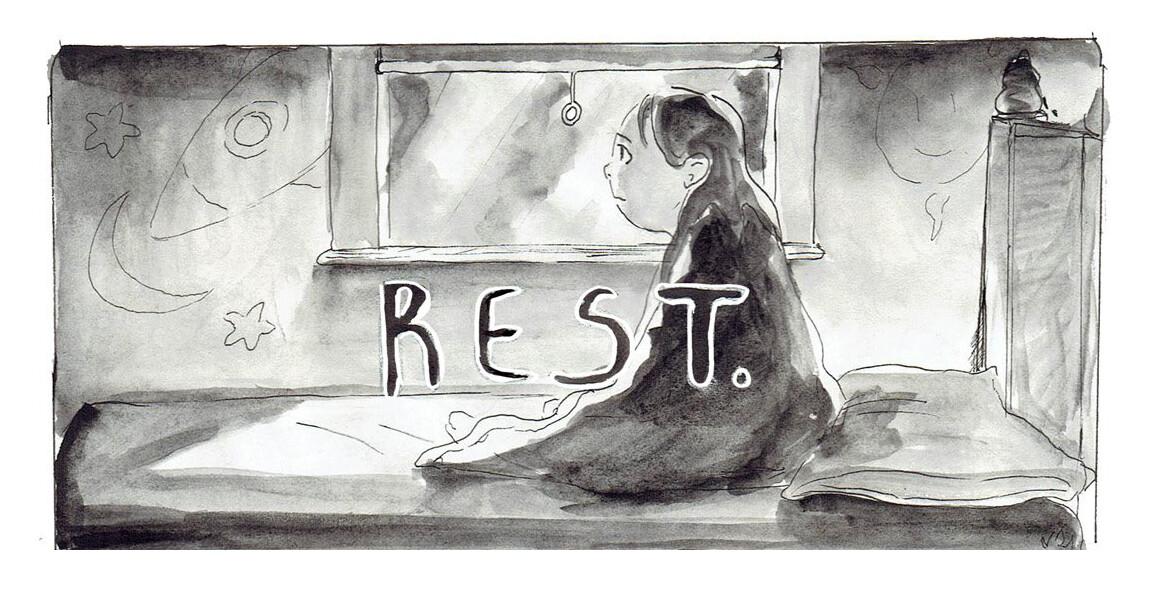 Rest - a short comic