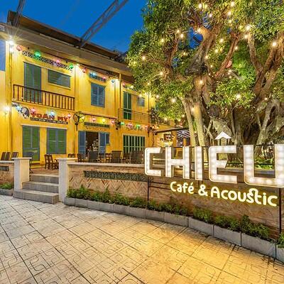 Neohouse architecture hoan thien thi cong quan cafe san vuon 1