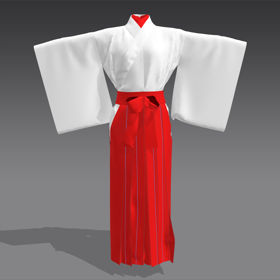Japanese Miko Clothing
