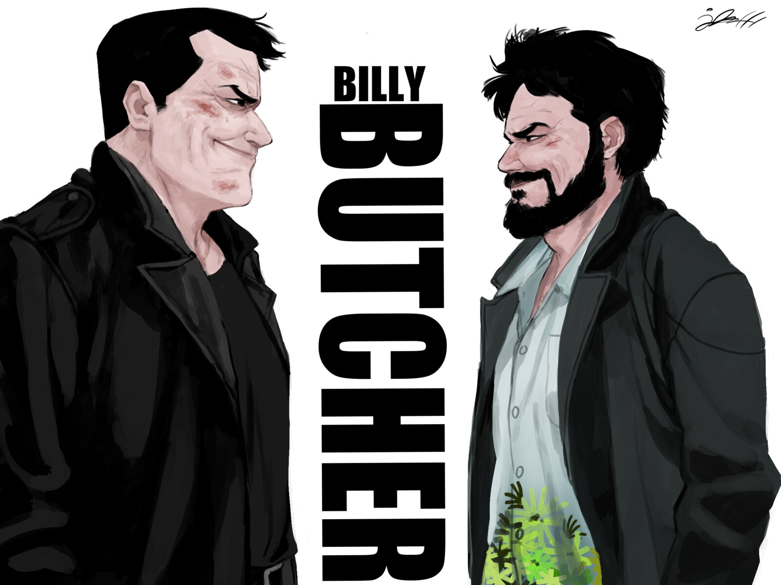 Artstation The Boys Billy Butcher Comics X Series Isaac Anderson