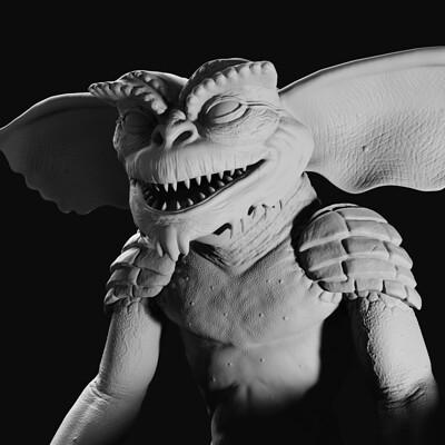 Jamie dunbar gremlin sculpt render 01