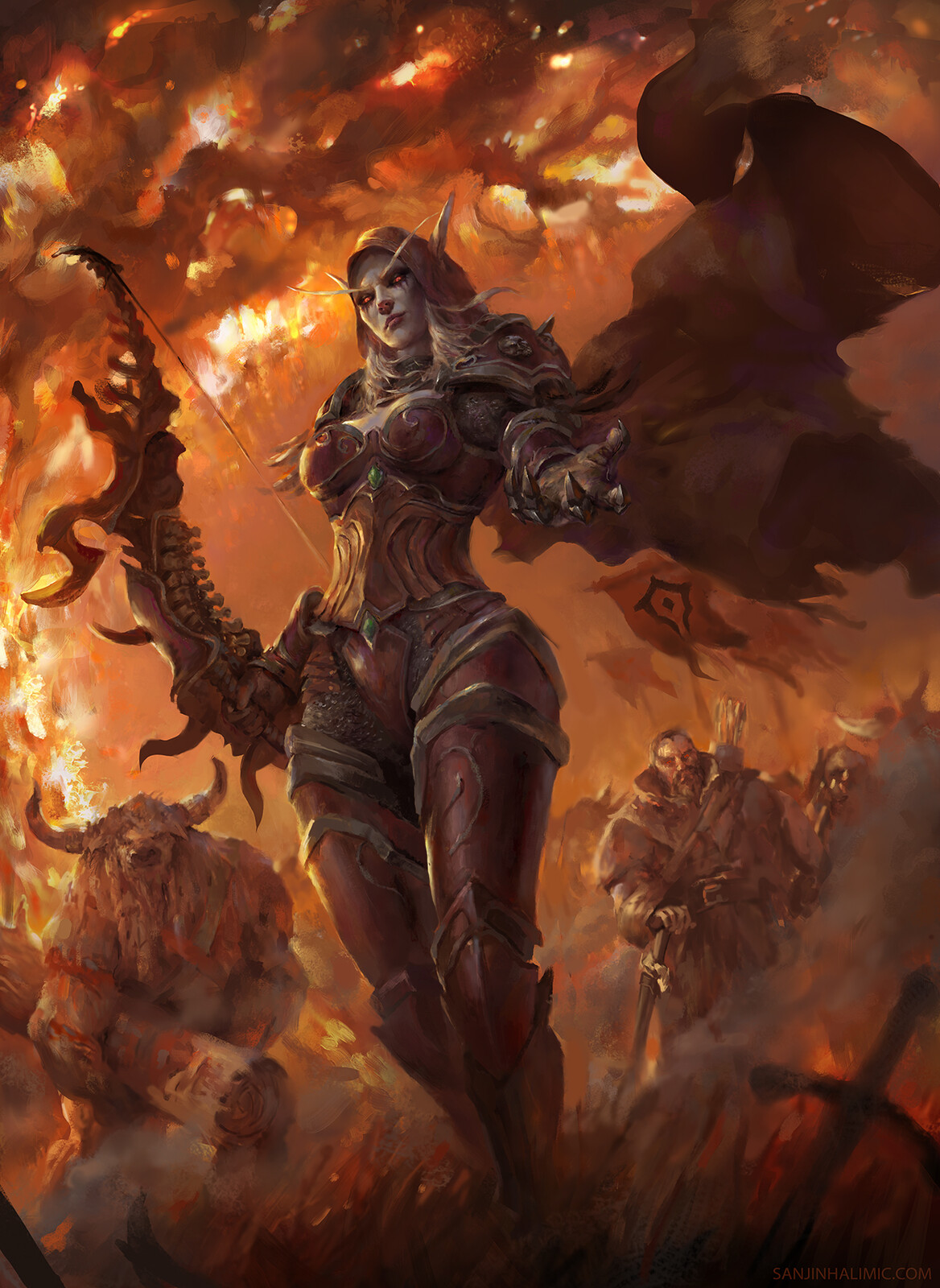 Burning of Teldrassil