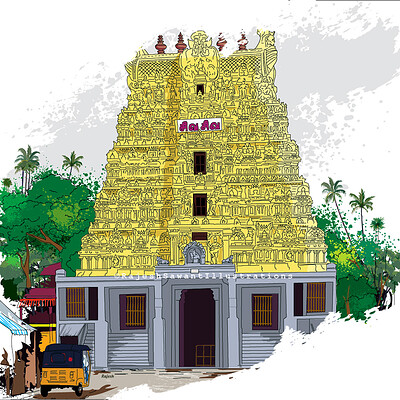 Rajesh r sawant rameshwar temple 2020 closeup