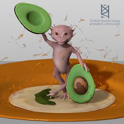 ce axolotl iztoc tlaxcalixco