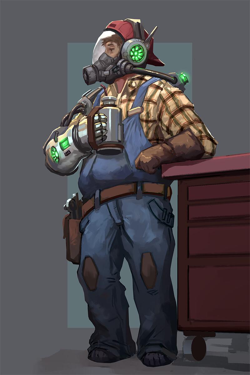 Sci Fi Mechanic