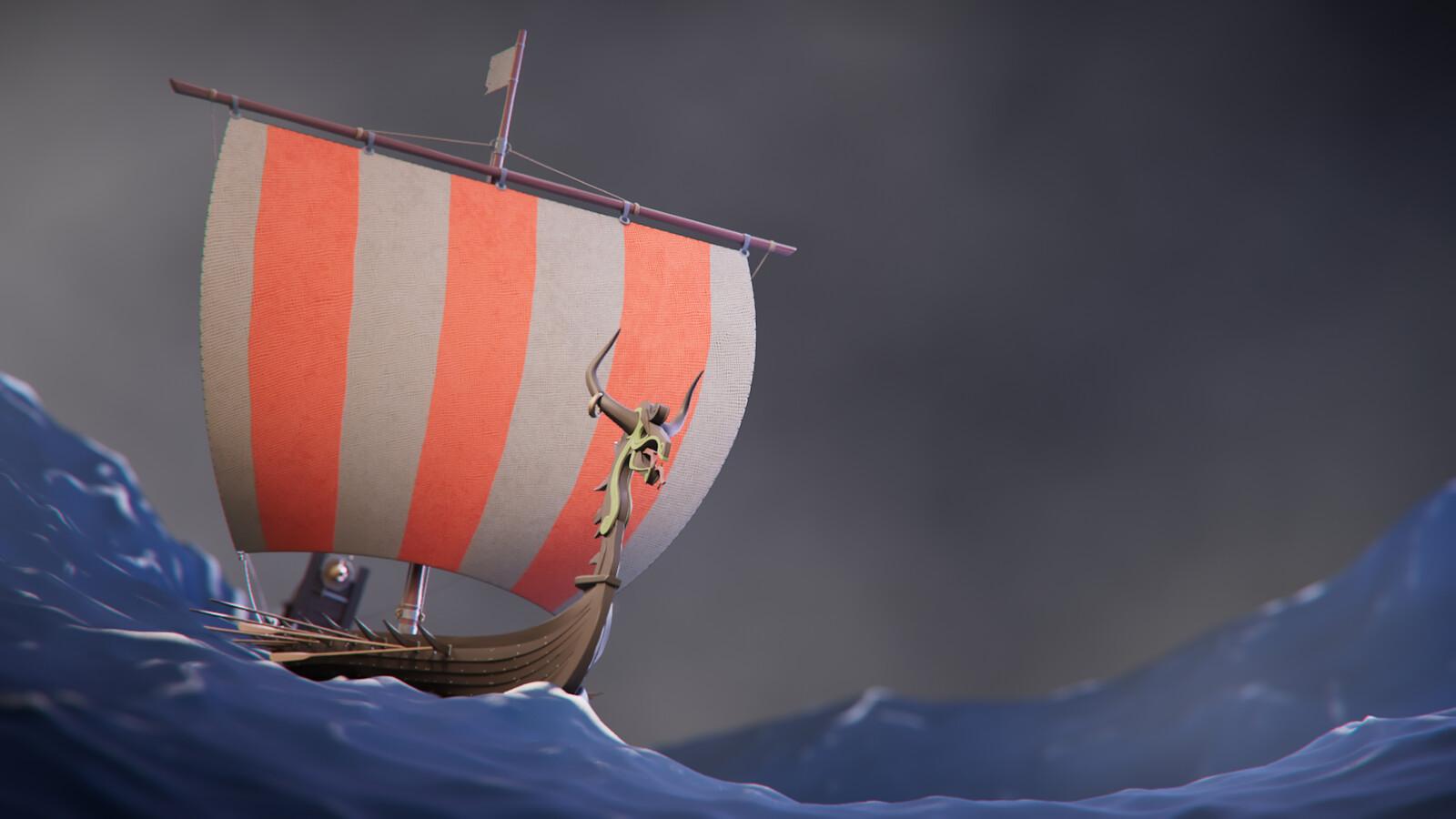 Figurehead - Pirates' Drakkar