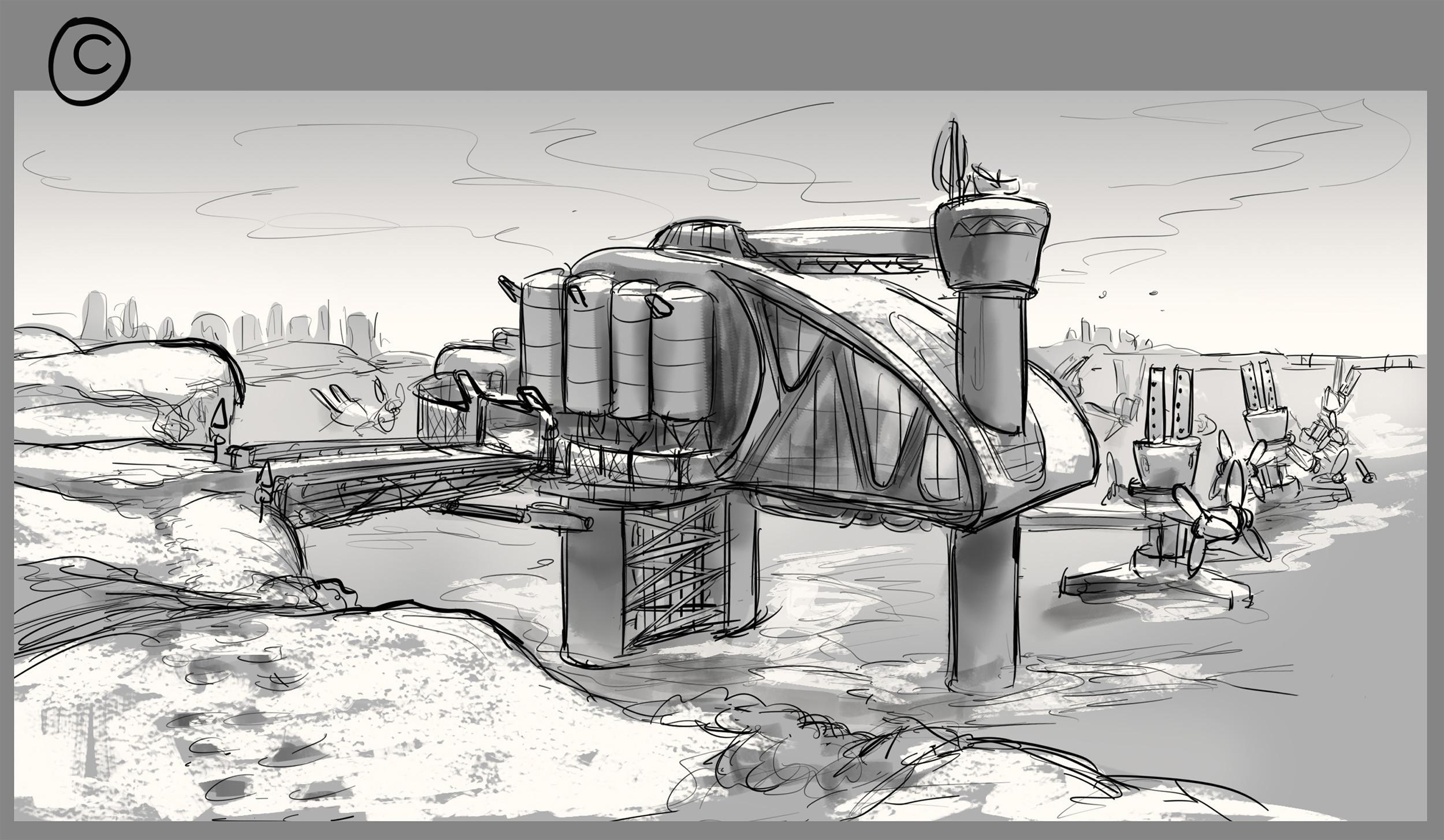 Scene Sketch 01