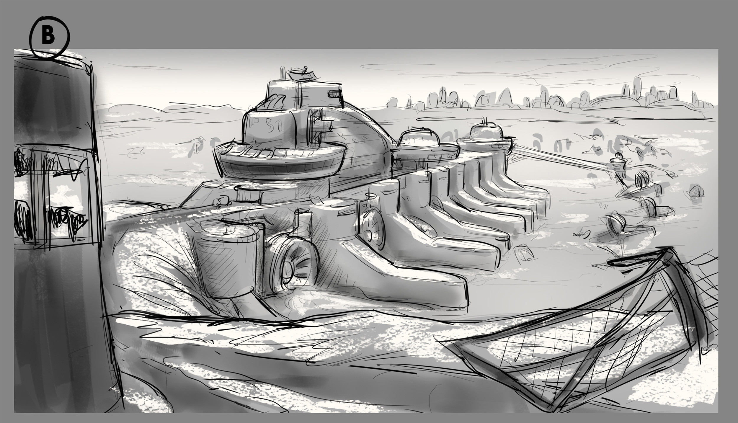 Scene Sketch 04