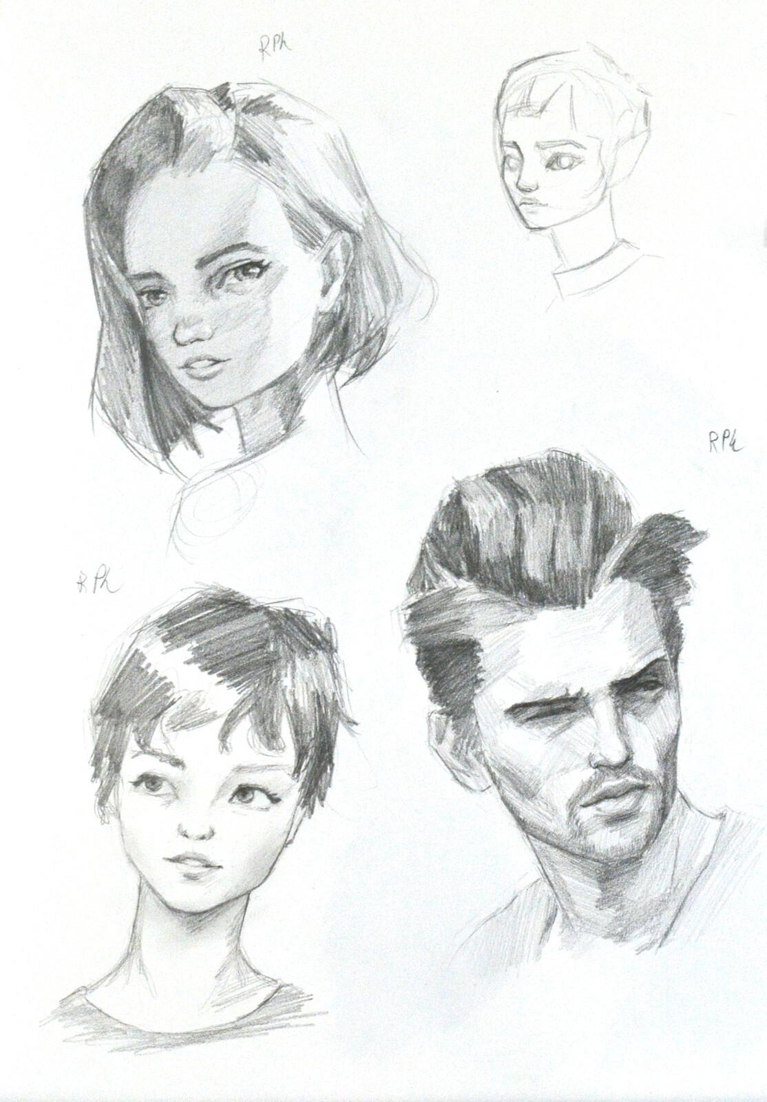 Portrait Practice II