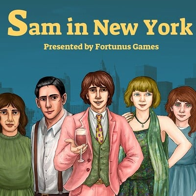Fortunus games promo art sam in nyc