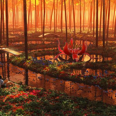 Artur rosa the aluren forest 1920