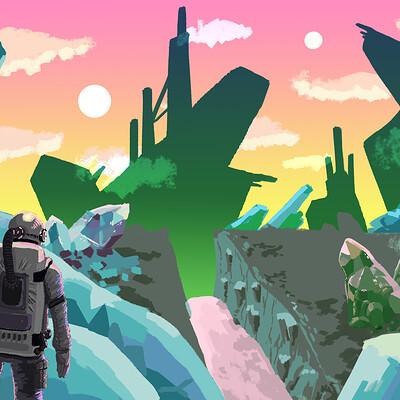 Helsic yiverus alien world3