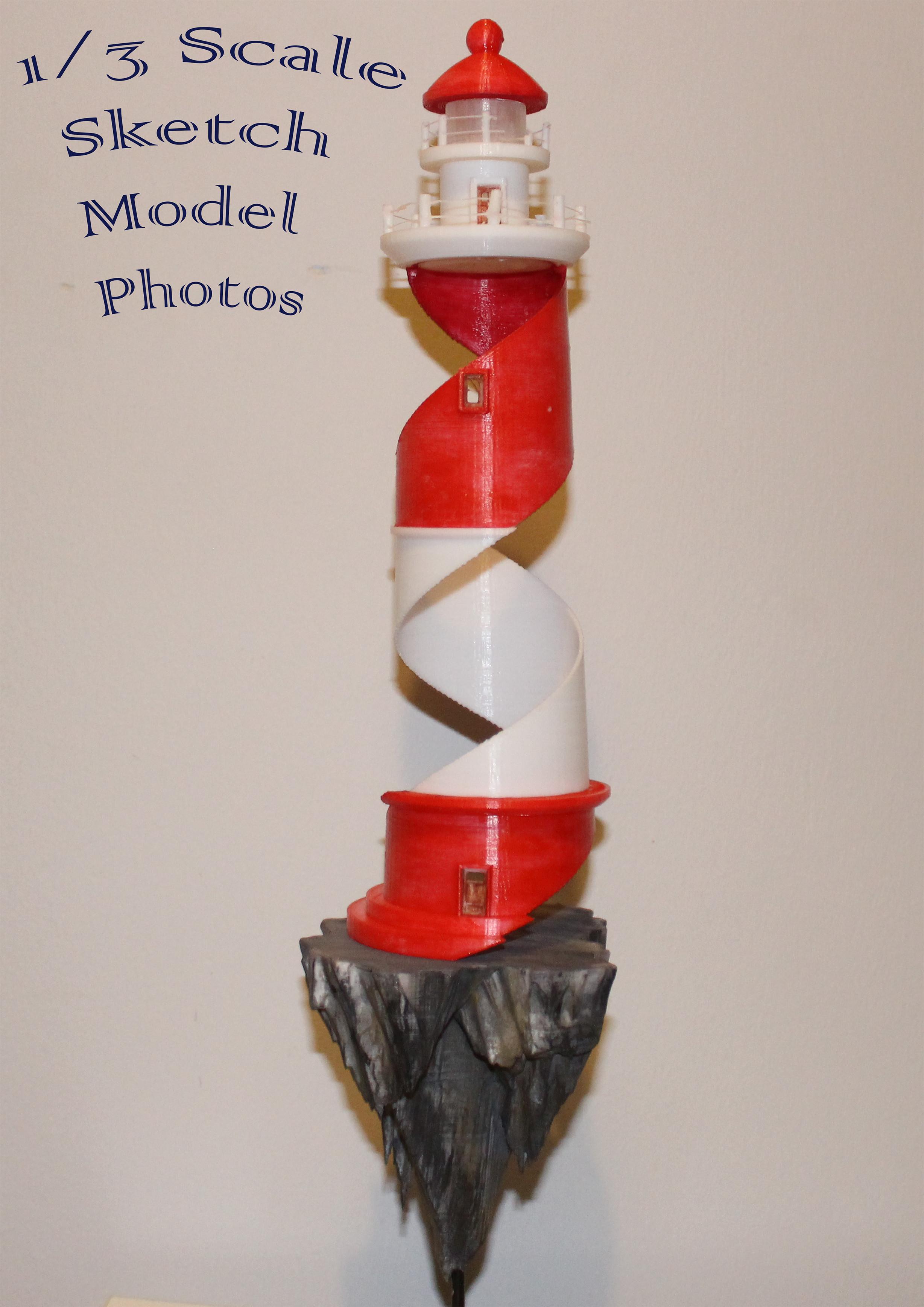 1/3 Scale Sketch Model