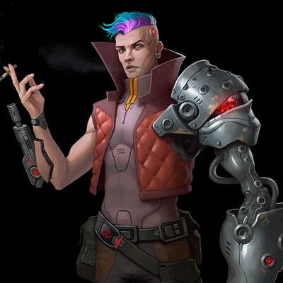 Dan pilla cyberpunk mercenary final