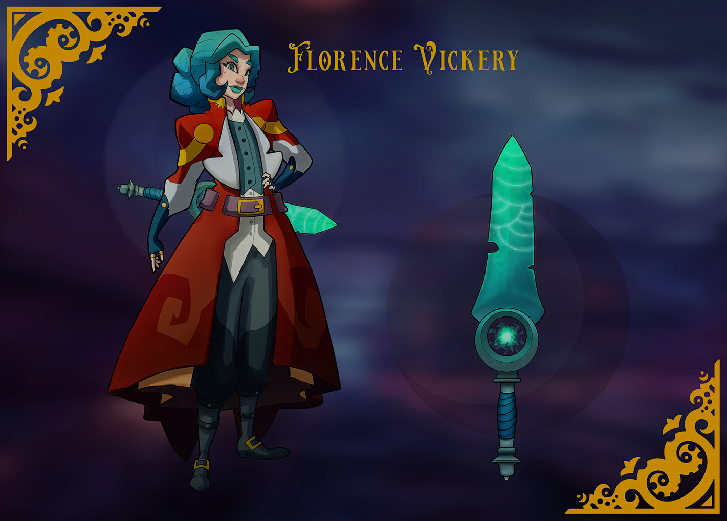 Character Design: Florence Vickery