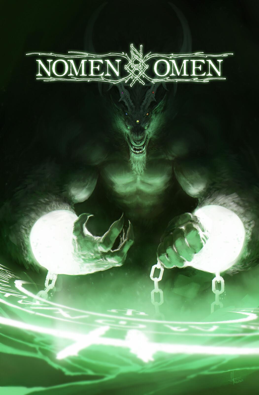 NOMEN OMEN #8: Variant cover